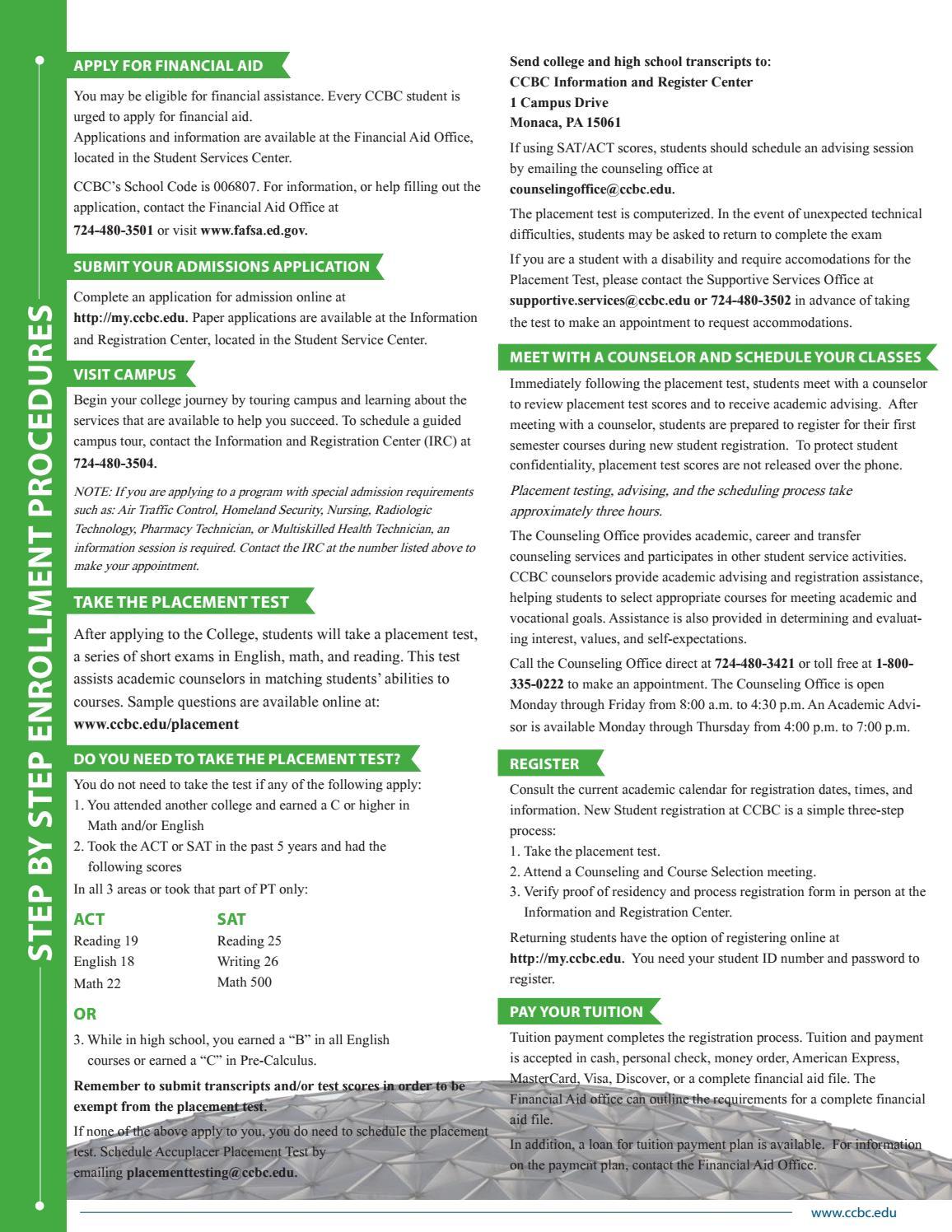 Community College of Beaver County 2016-17 Academic Catalog