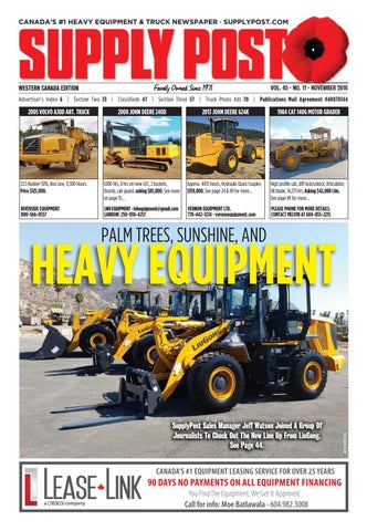 Supply Post West November 2016 by Supply Post Newspaper - issuu on