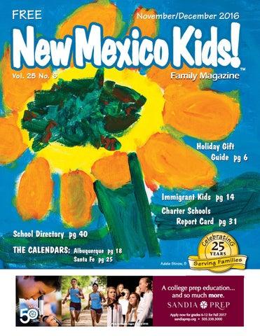 New Mexico Kids November December 2016 By