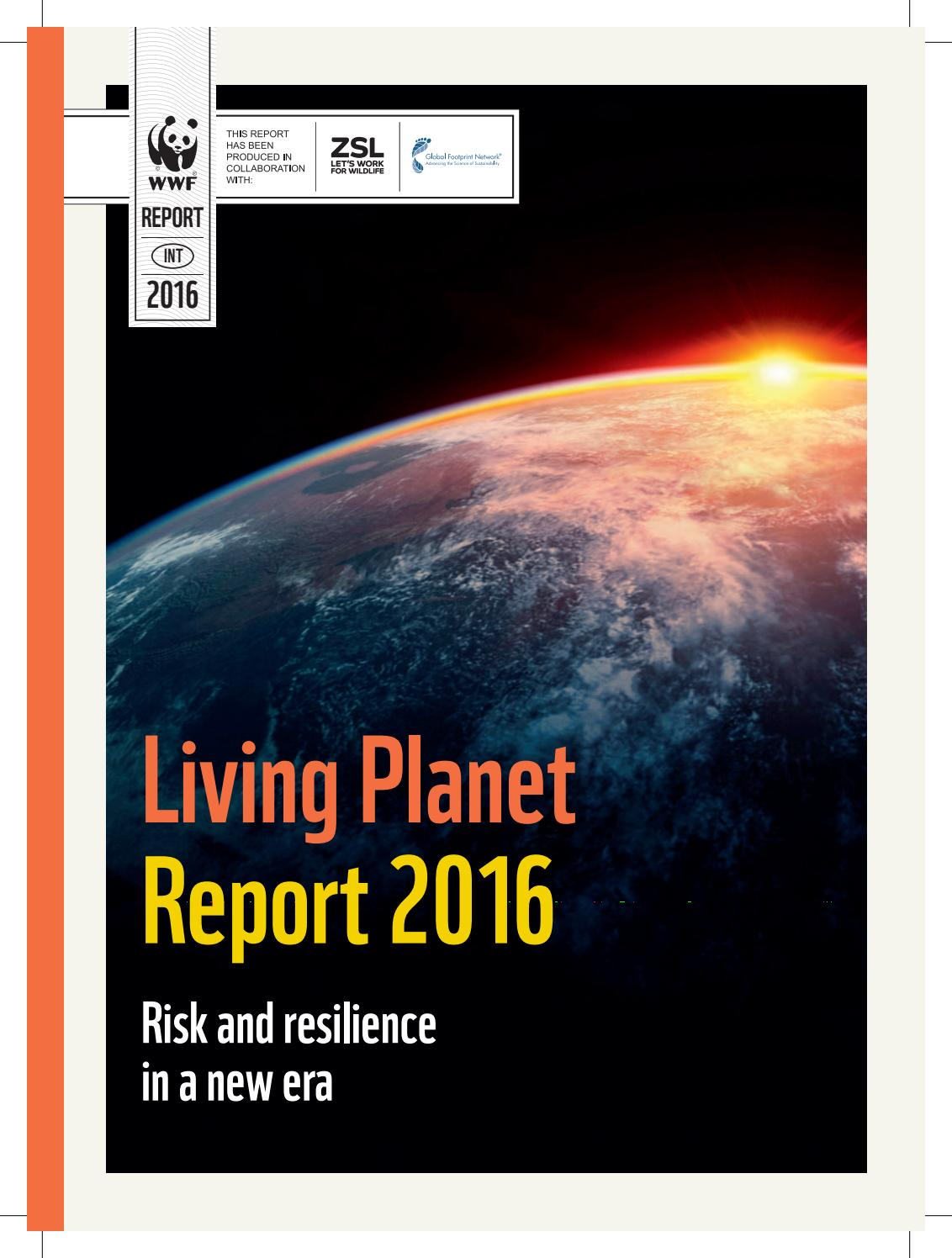 Living Planet Report 2016 by Global Footprint Network - issuu