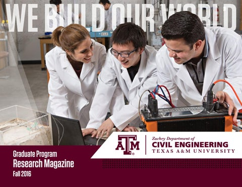page 1 we build our world graduate program