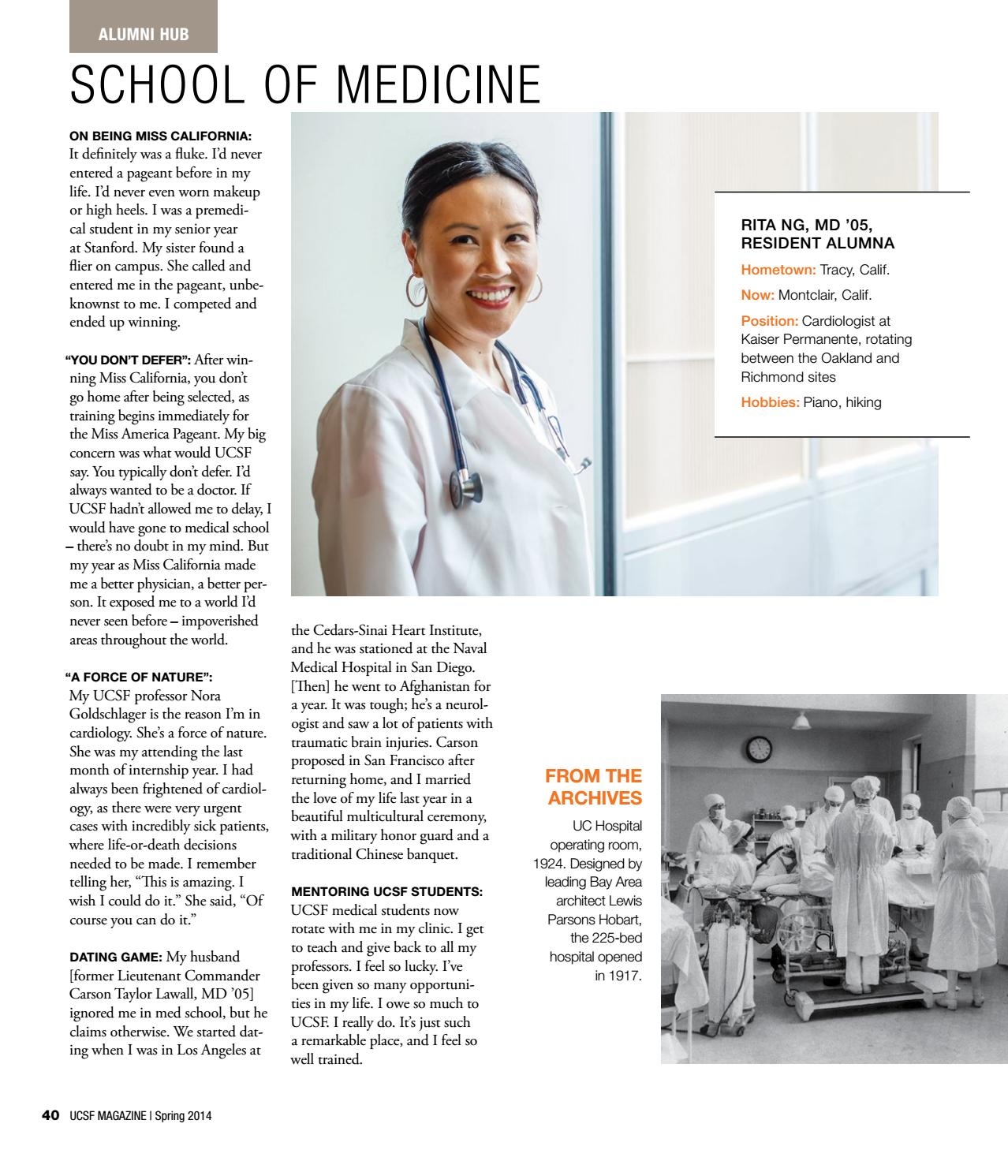 UCSF Magazine Spring 2014 by UCSF Magazine - issuu