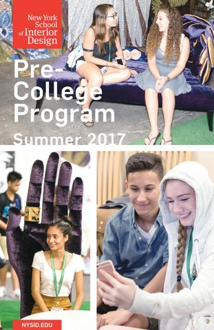 PreCollege Program Summer 2017