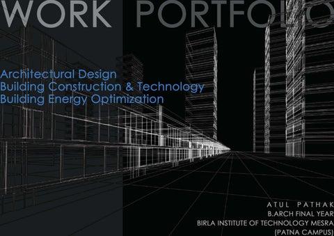 atul pathak b arch work portfolio pdf by atul pathak issuu