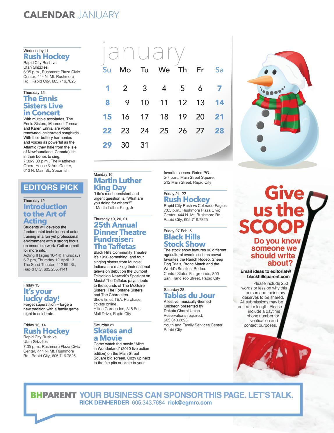 Black Hills Parent Winter 2016 by Evergreen Media - issuu