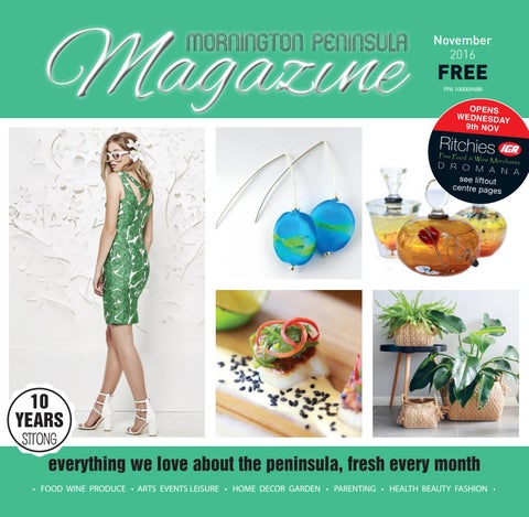 4f575dc83e2d Mornington Peninsula Magazine November 2016 by Mornington Peninsula ...