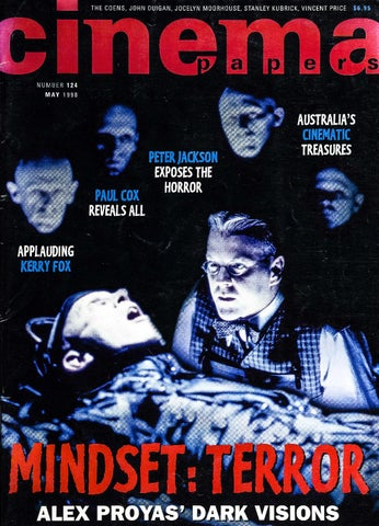 Cinema papers no124 may 1998 by uow library issuu page 1 fandeluxe Choice Image