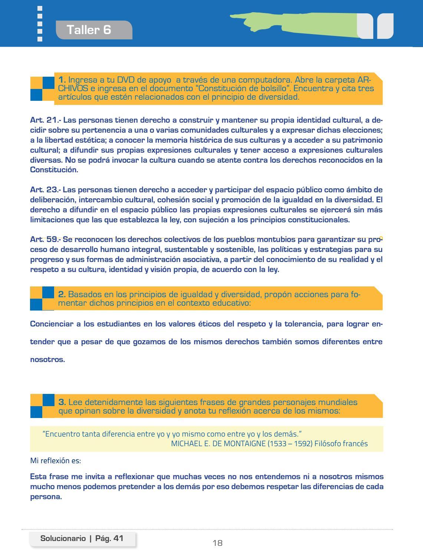 312580516 Soluciones Educacion Para La Ciudadania By Liss