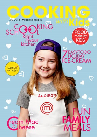 Magazine Cooking With Kids By Anh Vi 234 N Issuu