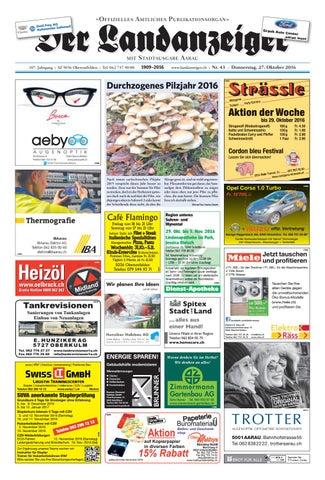 Der Landanzeiger 4316 By Zt Medien Ag Issuu