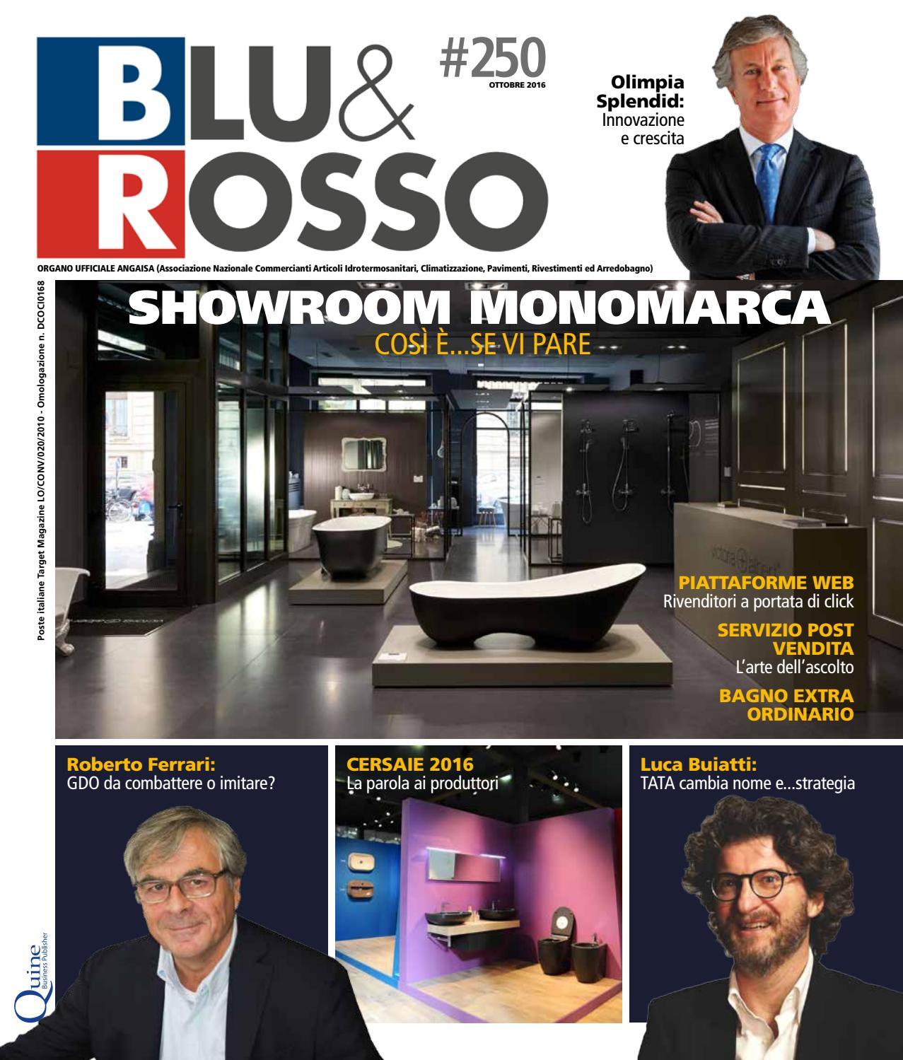 Sanitaria Lodigiana Arredo Bagno.Blu Rosso 250 Ottobre By Quine Business Publisher Issuu