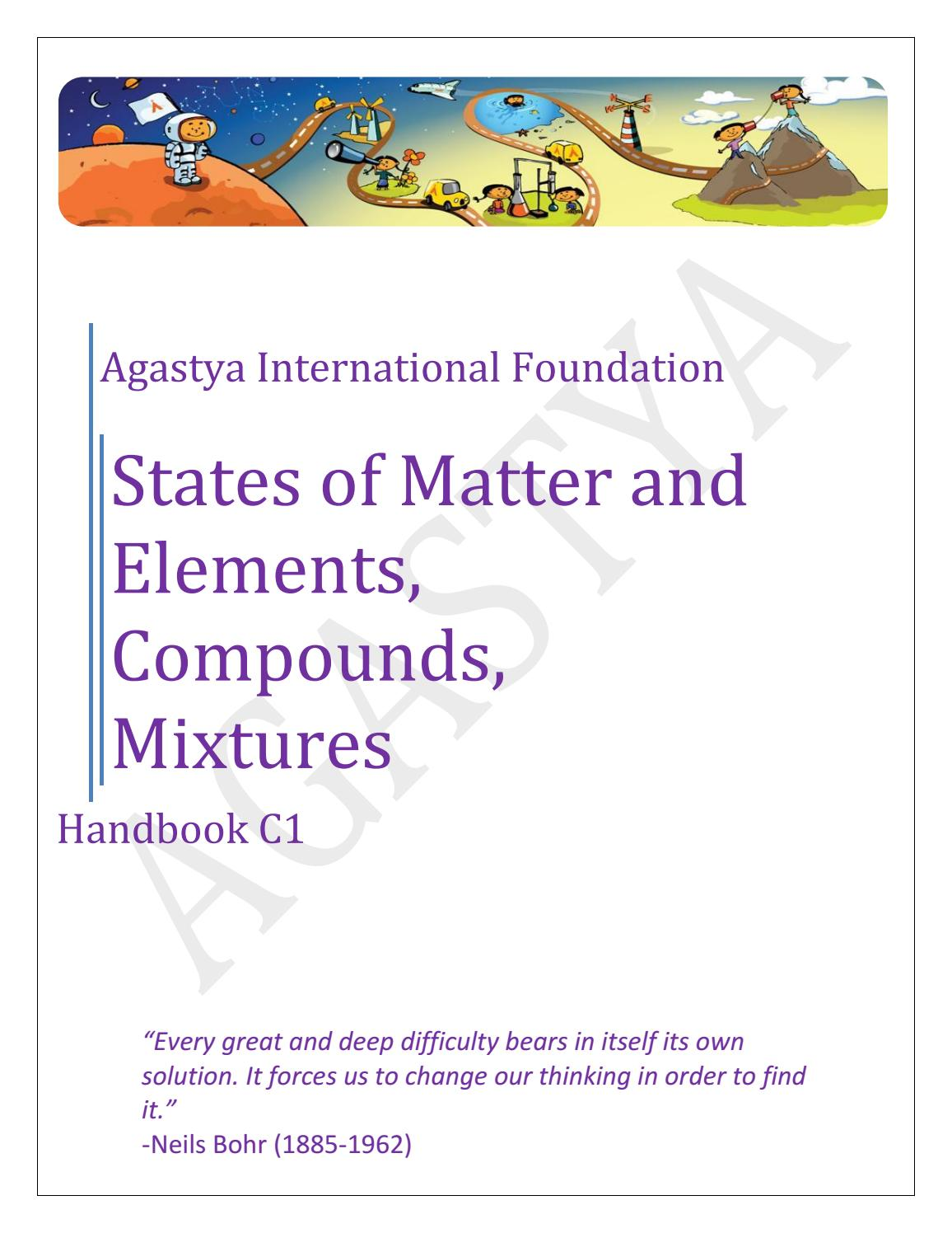 Facts About States Of Matter Manual Guide