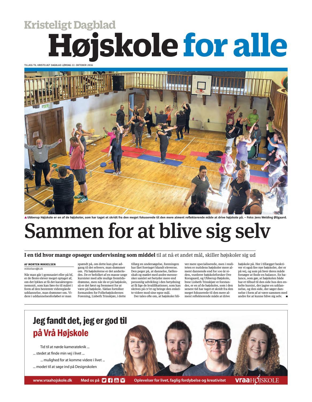 38a049c00f1 Højskole for alle by Kristeligt Dagblad - issuu