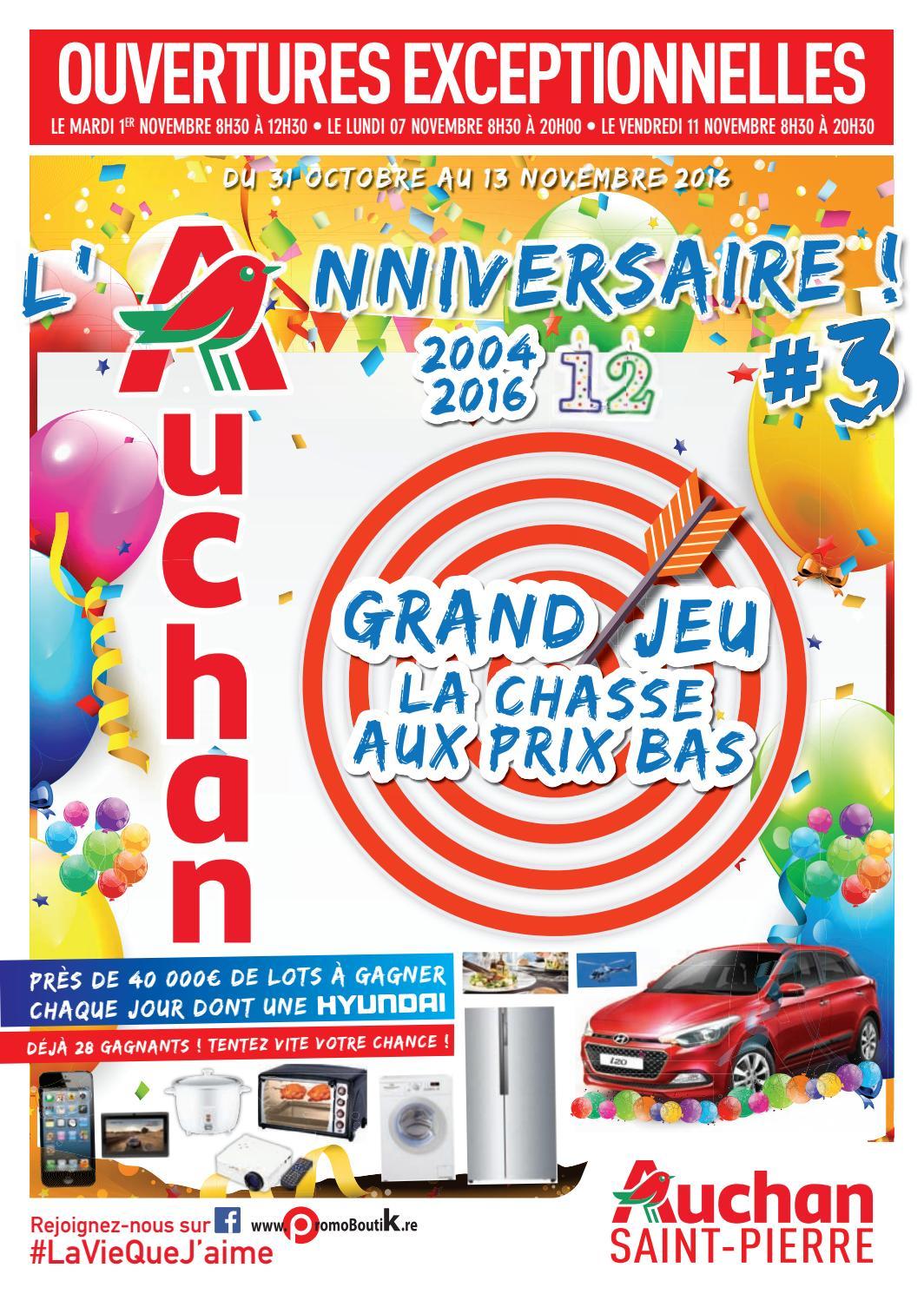 Catalogue Auchan Saint Pierre Du 31 Octobre Au 13 Novembre