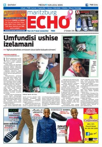 c8feded93b0 Maritzburg echo 27 10 16 by KZN Local News - issuu