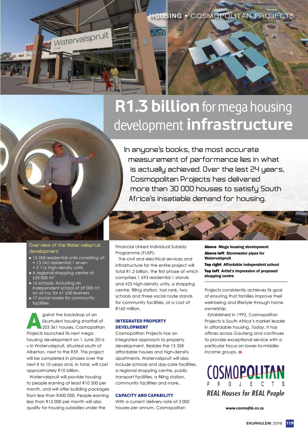 3S Special Projects - Ekurhuleni: Transforming the City by