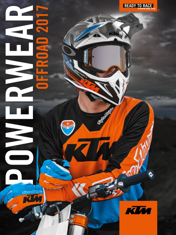 kaufen klare Textur heißes Produkt KTM PowerWear Offroad Catalog 2017 Deutsch by KTM GROUP - issuu