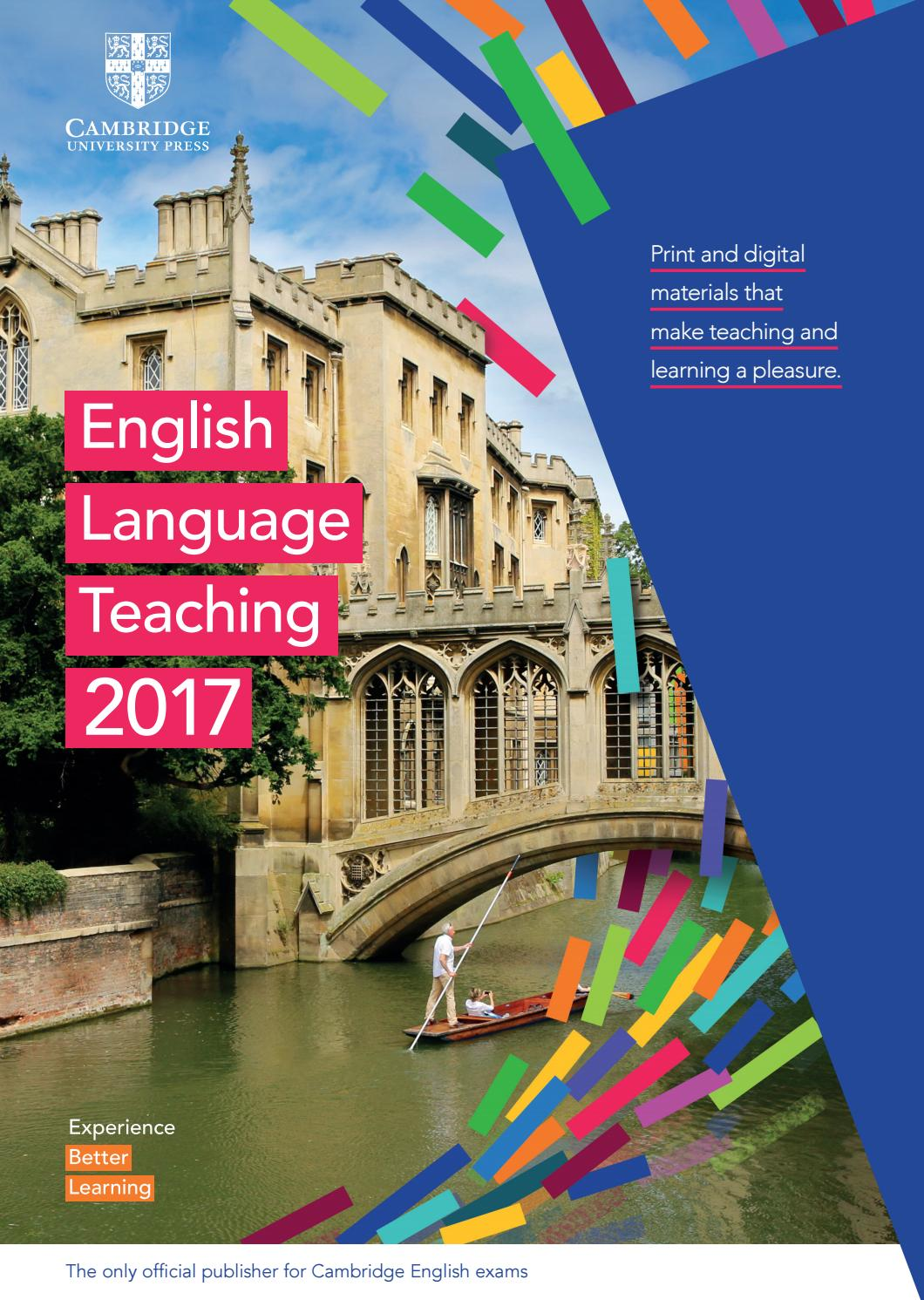 2017 ELT Cambridge University Press International Catalogue