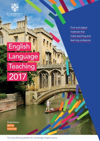2017 elt cambridge university press international catalogue by page 1 fandeluxe
