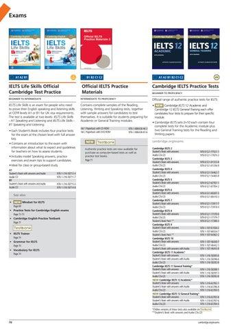 2017 ELT Cambridge University Press International Catalogue