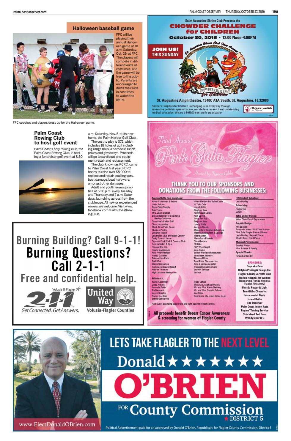 Palm Coast Observer Online 10 27 16 By Brian Mcmillan Issuu