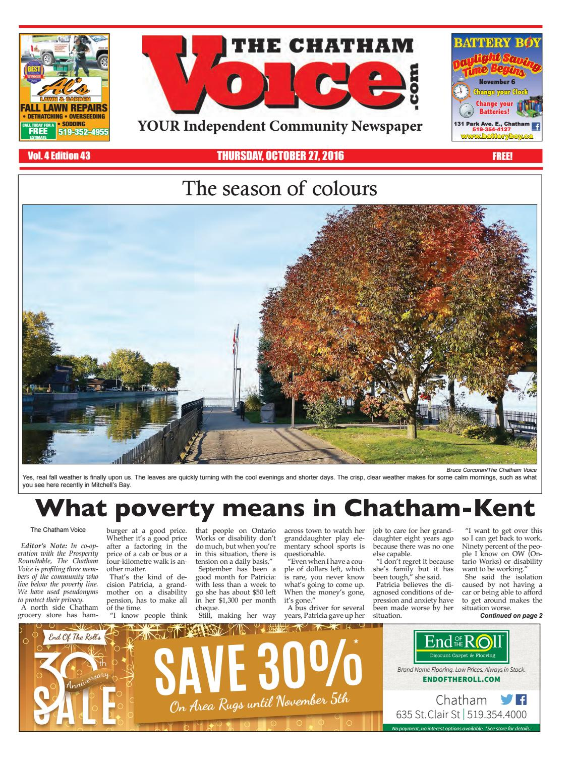 The Chatham Voice Oct 27 2016 By Chatham Voice Issuu