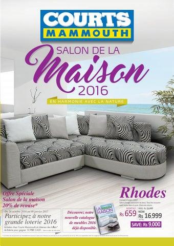 Courts Mammouth Mauritius Salon De La Maison 206 By Courtsmammouth Furniture Catalogue