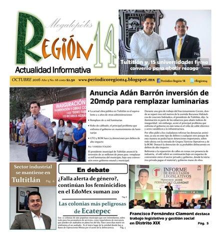 Región 14 Octubre 2016 by Región 14 issuu