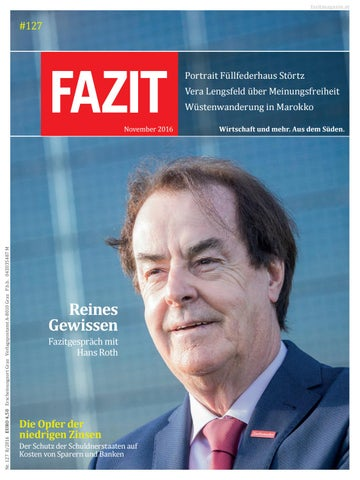 8724dfa81bde5c Fazit 127 by Fazitmagazin - issuu