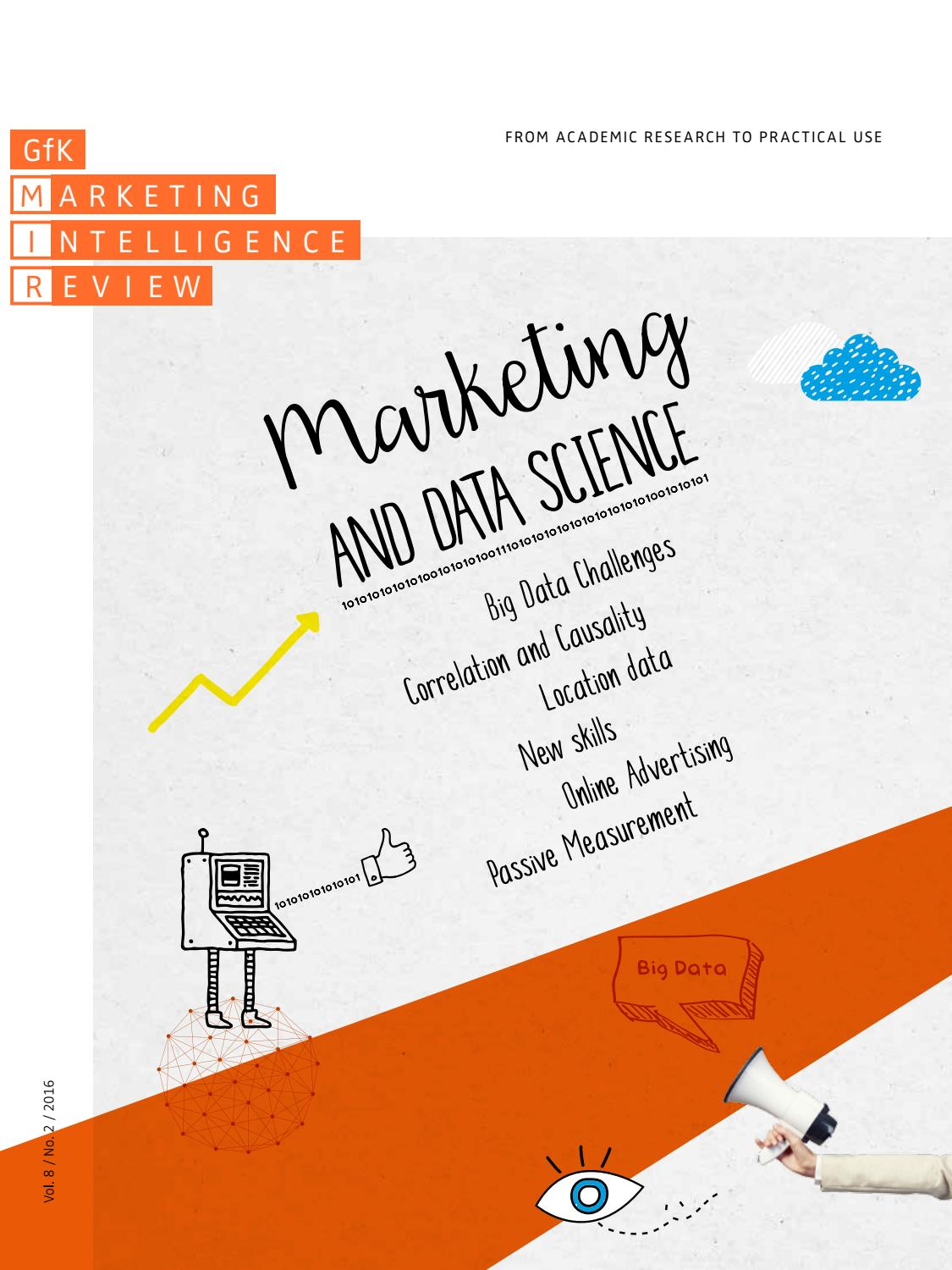 Marketing and Data Science Vol. 8 No. 2 (2016) by GfK MIR ...
