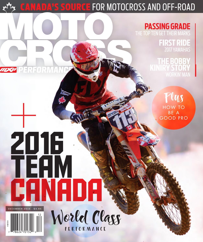 16 05 MXP Magazine by Motocross Performance Magazine - issuu