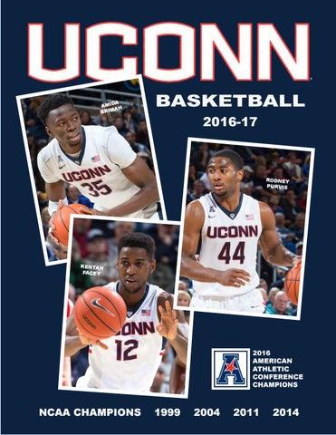 2016-17 UConn Men's Basketball Media Guide by UConn Divison of Athletics - Issuu