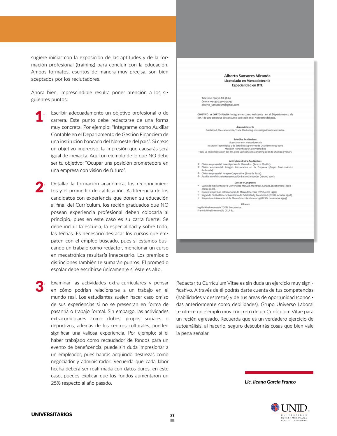 Guía de éxito profesional UNID by RedUNID - issuu