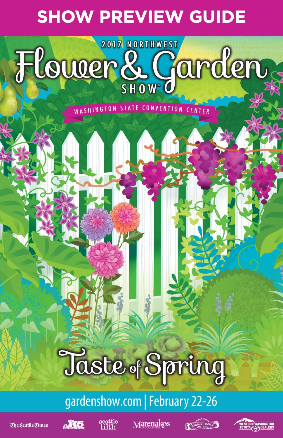 2017 northwest flower u0026 garden show preview guide by o u0027loughlin