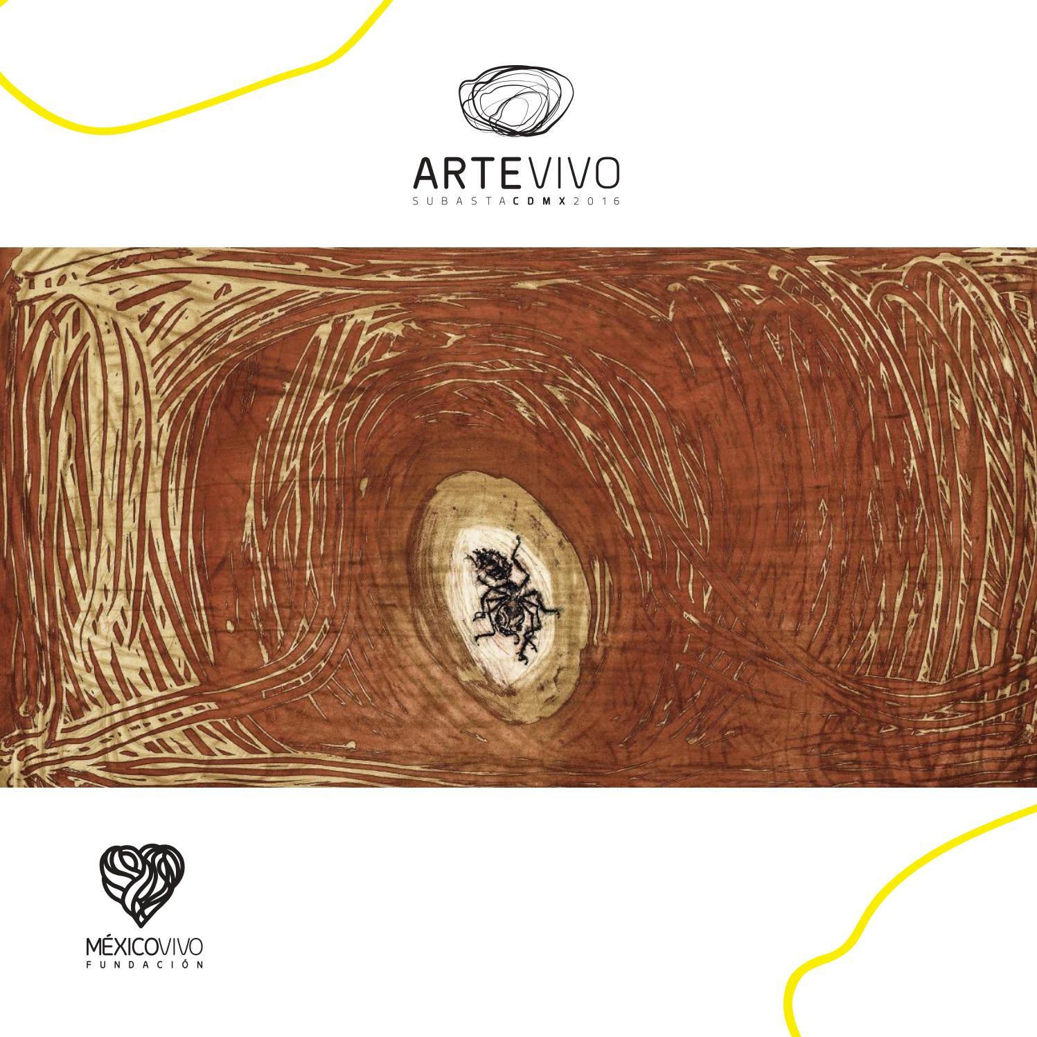 Arte Vivo 2016 by México Vivo - issuu