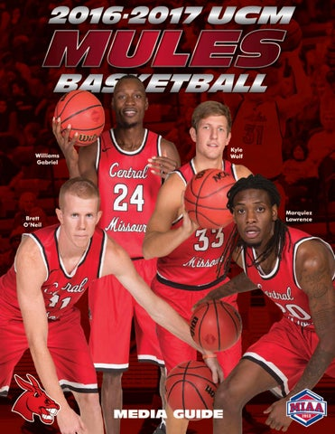 2016-17 Central Missouri Mules Basketball Media Guide by ...