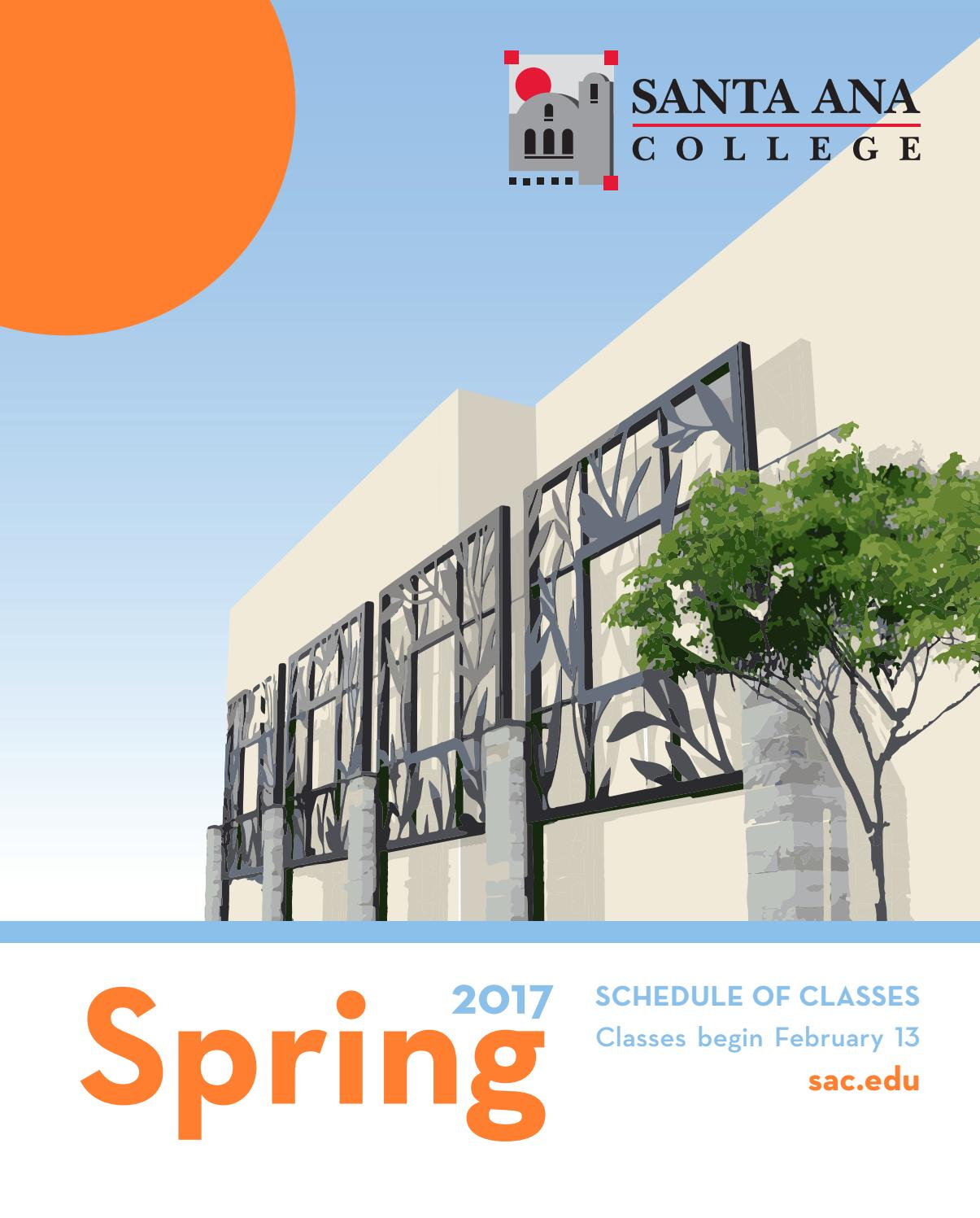 Santa ana college spring 2017 schedule of classes by santa ana santa ana college spring 2017 schedule of classes by santa ana college issuu aiddatafo Choice Image