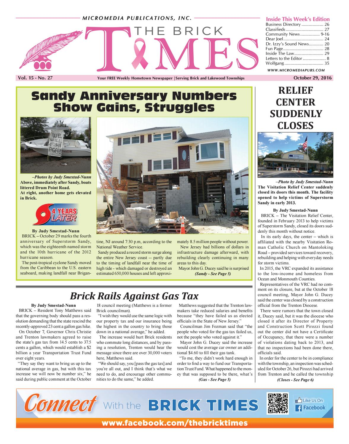 2016-10-29 - The Brick Times by Micromedia Publications - issuu