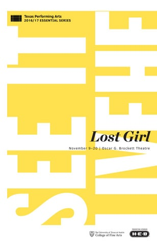 bc2b1f928053 Lost Girl by Texas Theatre   Dance - issuu