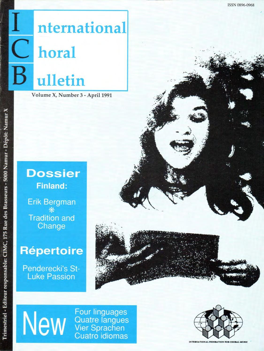 fe2028a158f eICB 1991-2 by Andrea Angelini - issuu