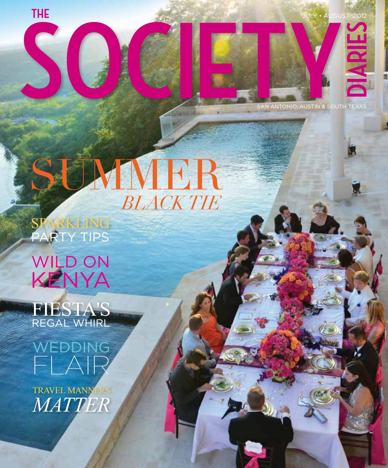 July-August 2012 By The Society