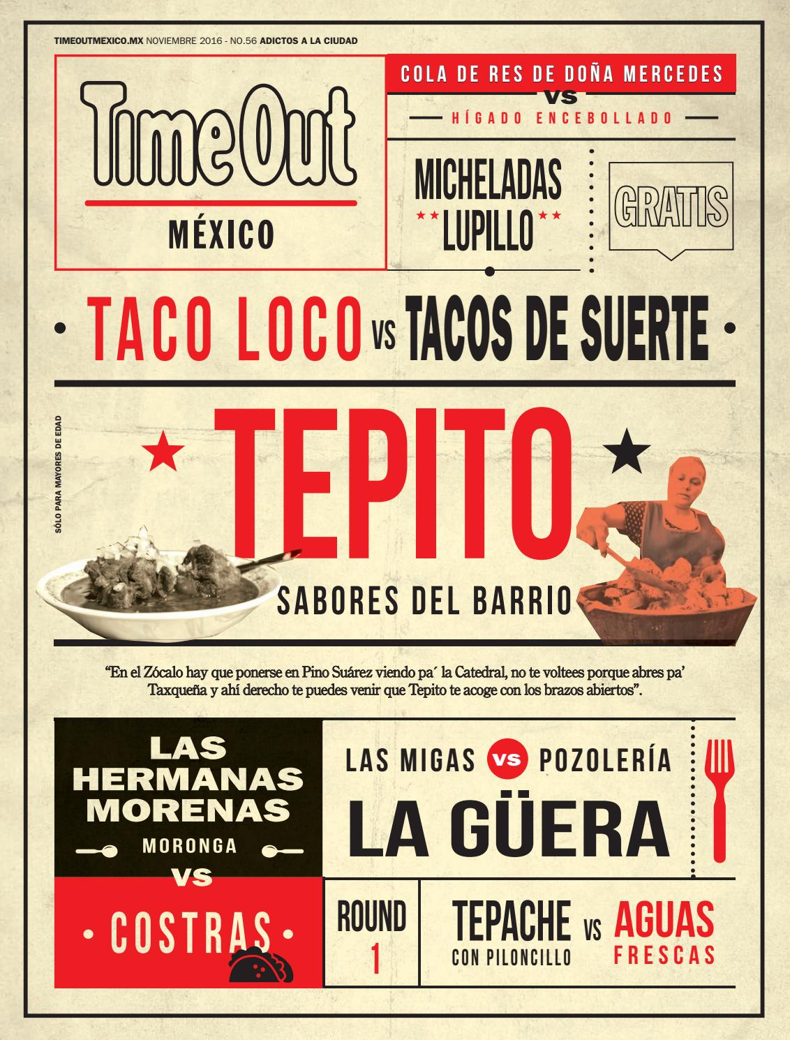 Time Out México Noviembre 2016 by Time Out México - issuu