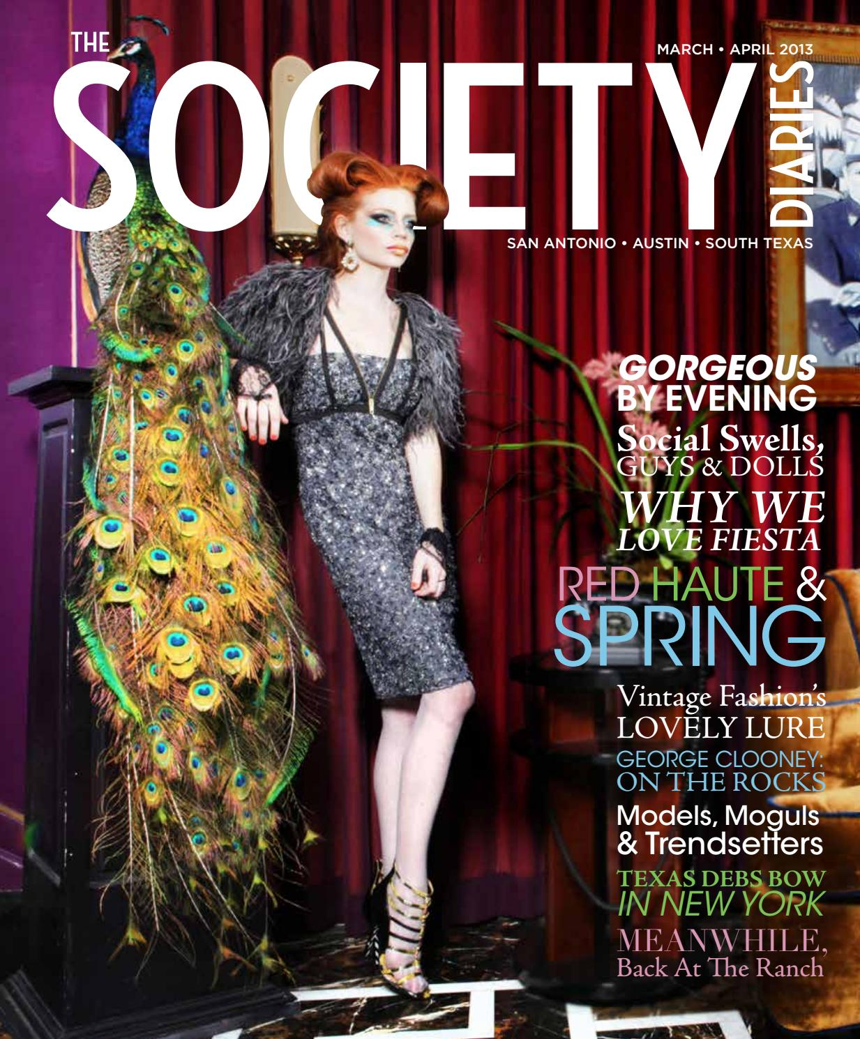 The Society Diaries March April 2013 By The Society