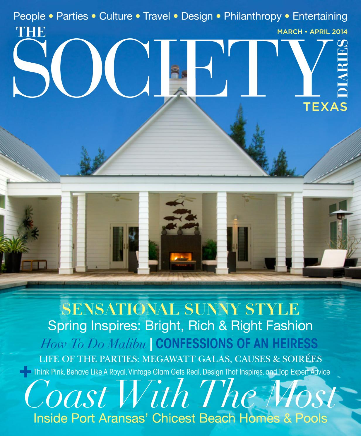 The Society Diaries | March-April 2014 by The Society Diaries - issuu
