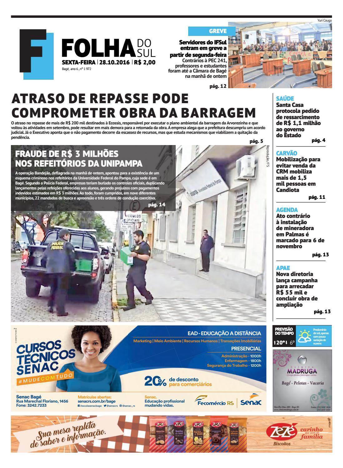 Jornal Folha do Sul, 28 de outubro de 2016 by Folha do Sul Gaúcho - issuu 80dfb9c52a