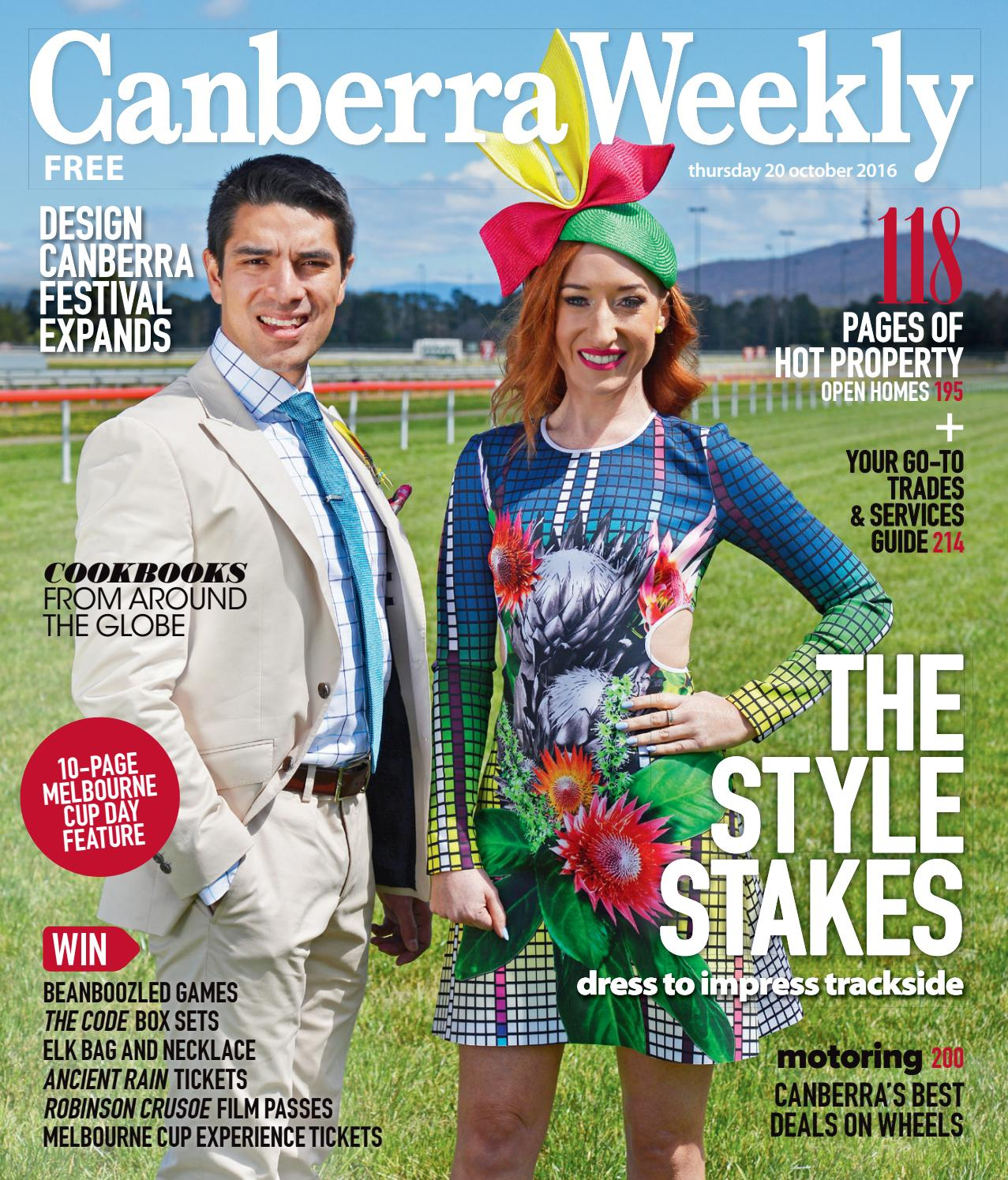 4e6a32ca1f3e 20 October 2016 by Canberra Weekly Magazine - issuu