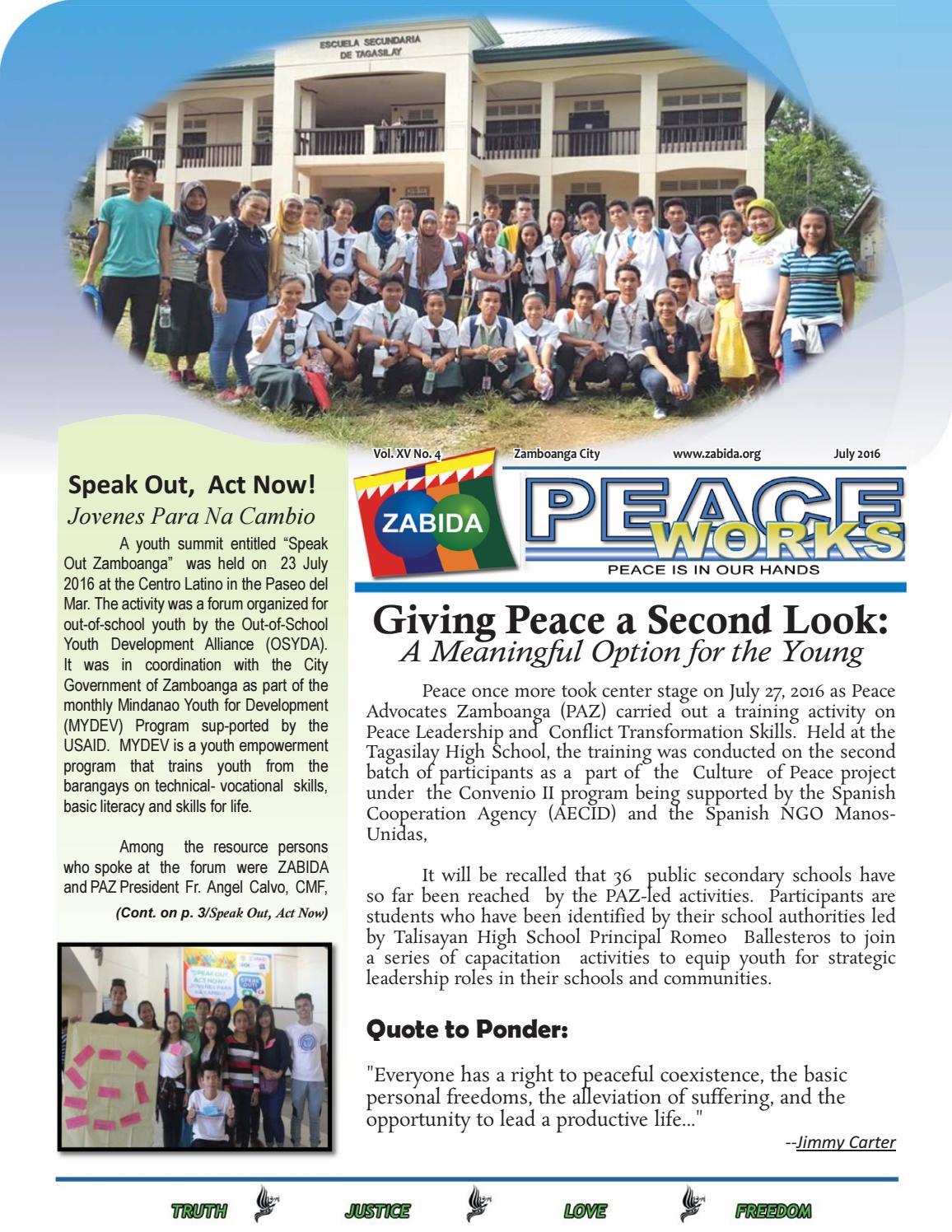 Pw newsletter JULY 2016 by ZABIDA - issuu