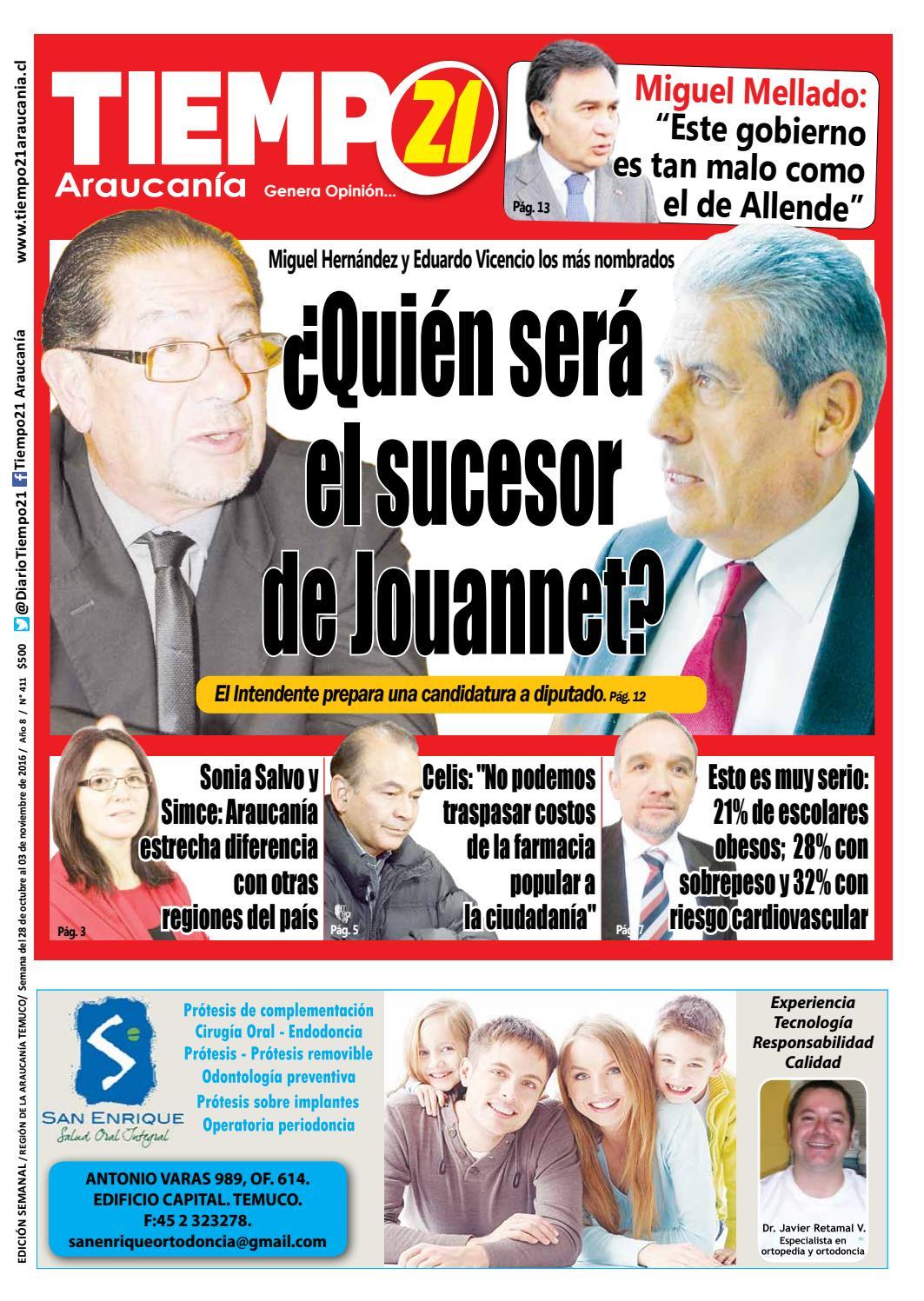 Edici N 411 Qui N Ser El Sucesor De Jouannet By Tiempo21  # Muebles Jouannet Temuco
