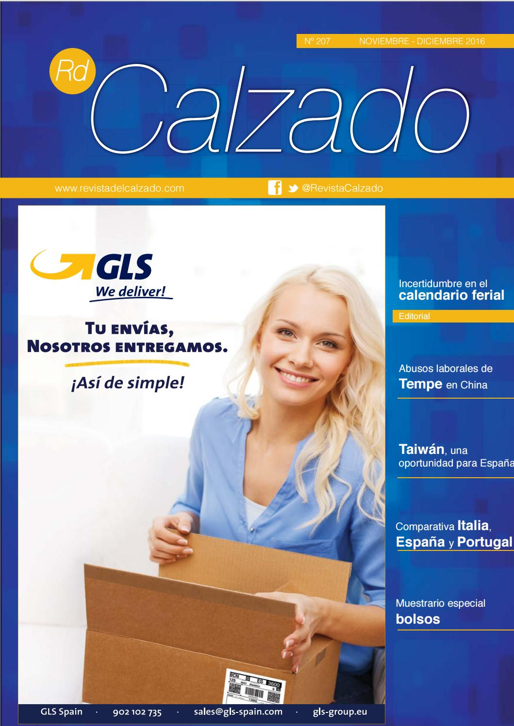 uk availability 71cbe 9db9b Revista del calzado nº 207