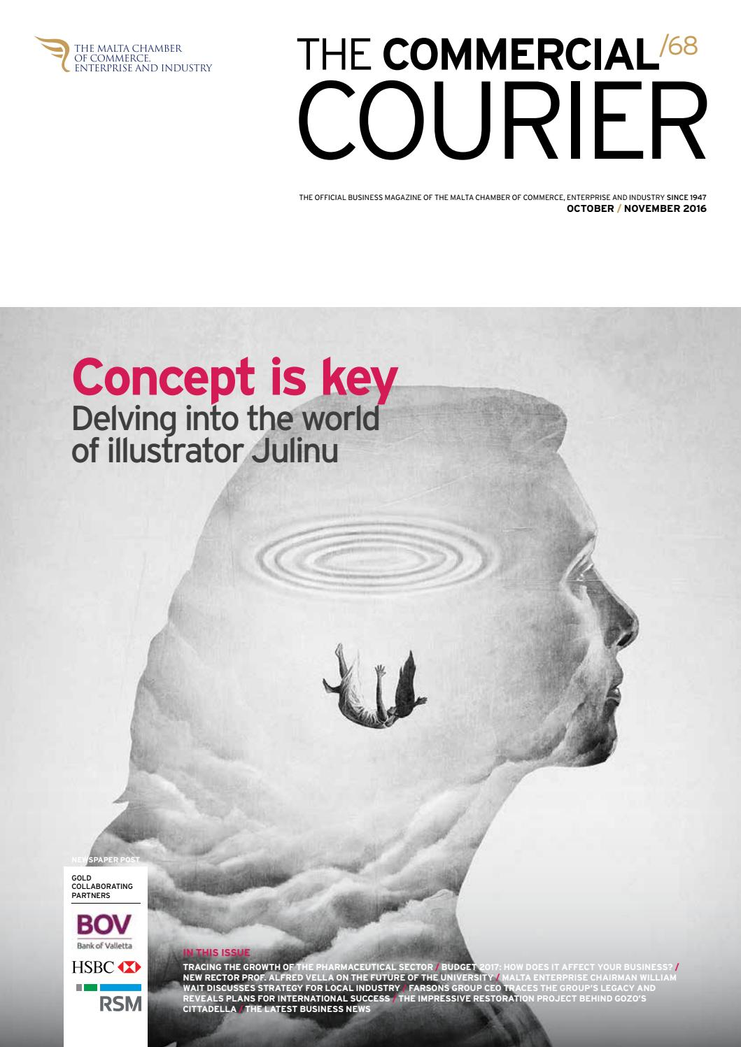 The Commercial Courier October/November 2016 by Content